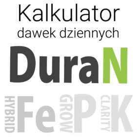 Kalkulator dawek NPK - DuraN