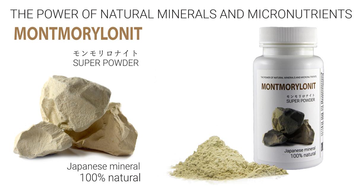 Montmorylonit Super Powder